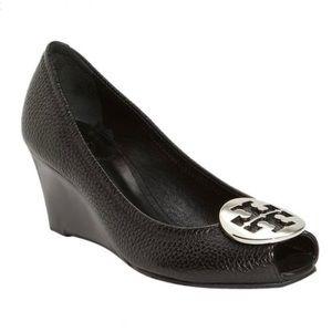 Sally 2 peep toe wedge pump size 12M